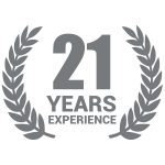 21 Years Experience